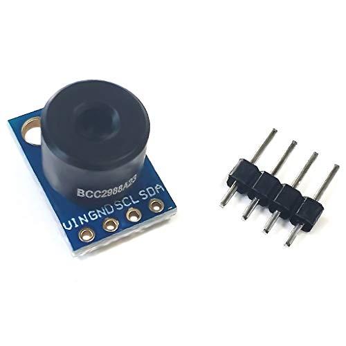 BIlinli GY-906 MLX90614ESF-BAA/BCC/DCI Berührungsloses Infrarot-Temperatursensormodul Kontaktlose IR-Sensorplatine