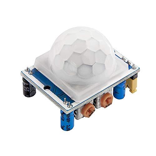AZDelivery HC-SR501 PIR Bewegungssensor Bewegungsmelde Modul kompatibel mit Arduino und Raspberry Pi inklusive E-Book!