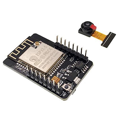 JZK ESP32-CAM WiFi + Bluetooth Kamera Modul, Development Board ESP32 mit WiFi Bluetooth Kamera kleines ESP32 Kameramodul