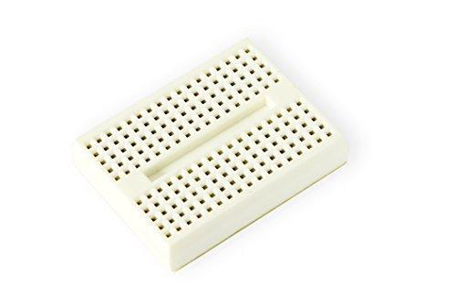 MissBirdler Universal 170 Pin Mini Breadboard mit Klebepad weiß für Arduino Raspberry Pi