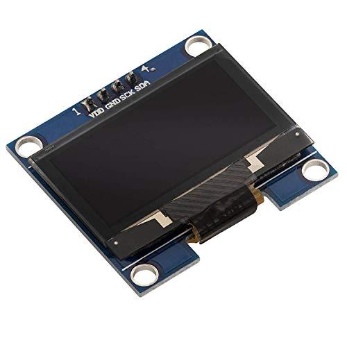 AZDelivery 1,3 Zoll OLED Display I2C SSH1106 Chip 128 x 64 Pixel I2C Bildschirm Anzeigemodul mit weißen Zeichen kompatibel mit Arduino und Raspberry Pi inklusive E-Book!