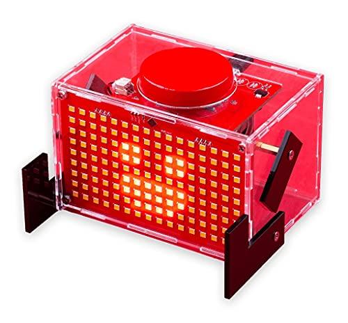 CircuitMess Spencer – DIY Sprachassistent Bausatz   Lerne Elektronik und Programmieren   Robotik Lernen   Mint Projekte für Kinder   ab 11 Jahren   Mint Bauspielzeug