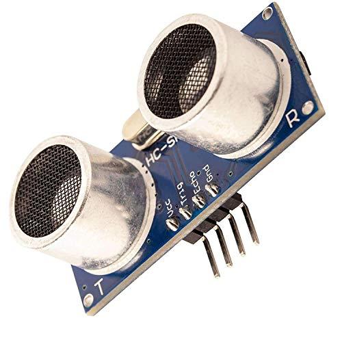 AZDelivery HC-SR04 Ultraschall Modul Entfernungsmesser Sensor kompatibel mit Arduino und Raspberry Pi inklusive E-Book!