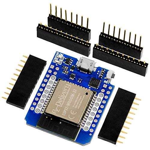 AZDelivery ESP32 D1 Mini NodeMCU WiFi Modul + Bluetooth Internet Entwicklungsboard kompatibel mit Arduino inklusive E-Book!