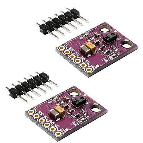 ICQUANZX 2PCS APDS-9960 APDS9960 RGB-Gesten-Sensor-Modul Handgestenerkennung Bewegungsrichtung Umgebungslicht RGB-Näherungssensor-Modul Infrarot-Bewegungssensor