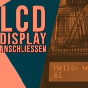 Connecting the LCD display to the Arduino