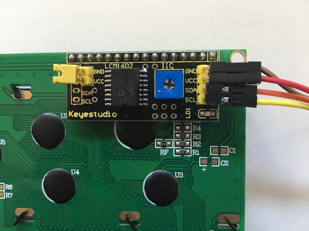 I2C am LCD Display