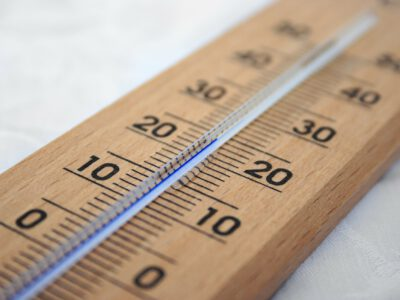 Measuring temperature with the TMP36