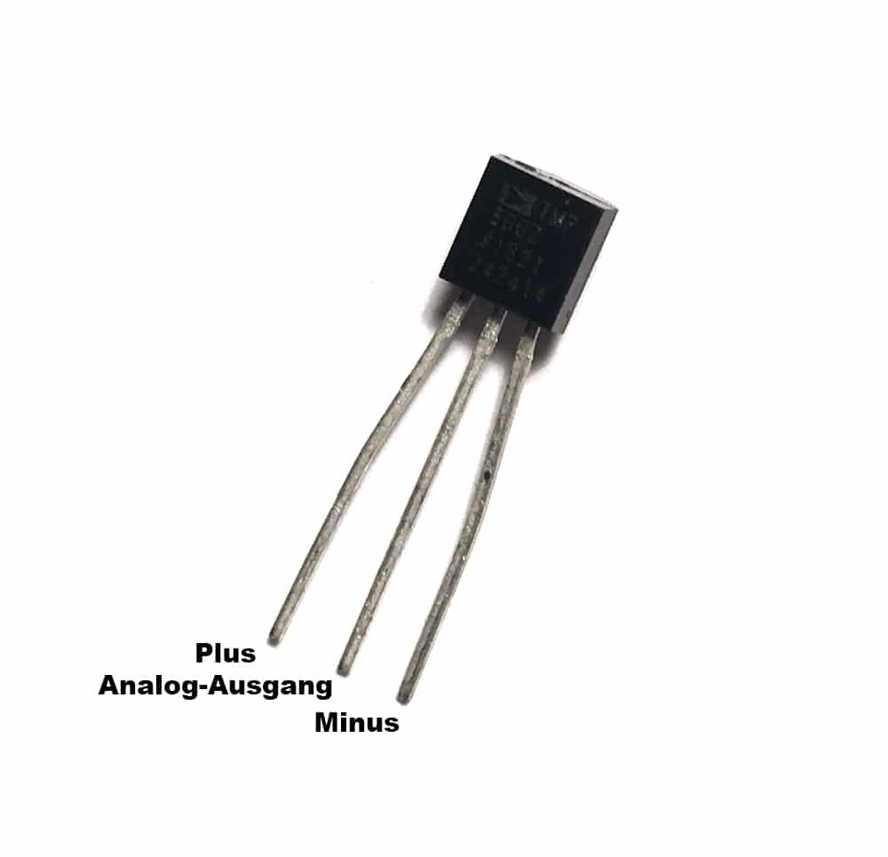 TMP36 Pins