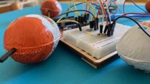 Arduino Orgel mit Überraschungseiern