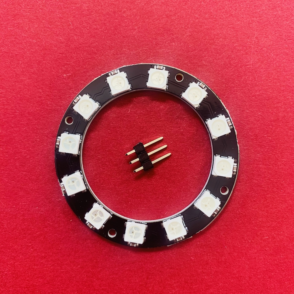 NeoPixel LED Ring mit Pins