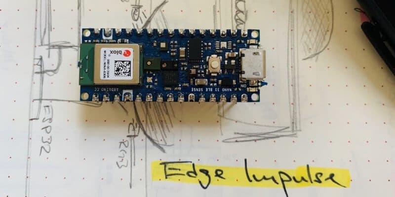Arduino Nano 33 BLE Sense und Edge Impulse