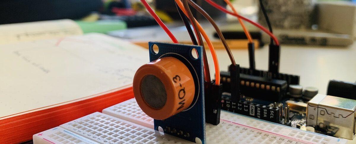 Der Alkoholsensor MQ-3 am Arduino