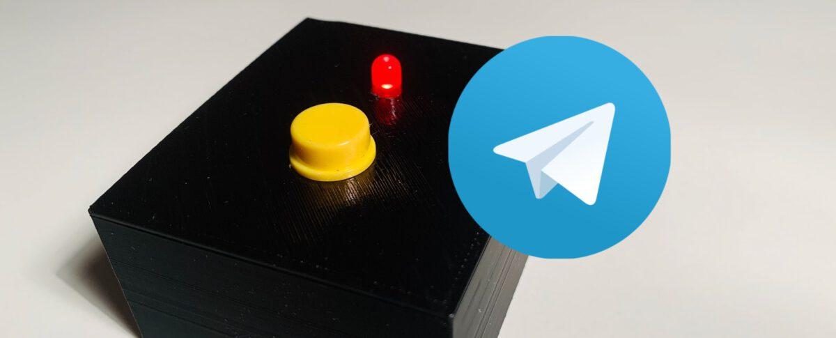 Dash Button mit Telegram und ESP8266