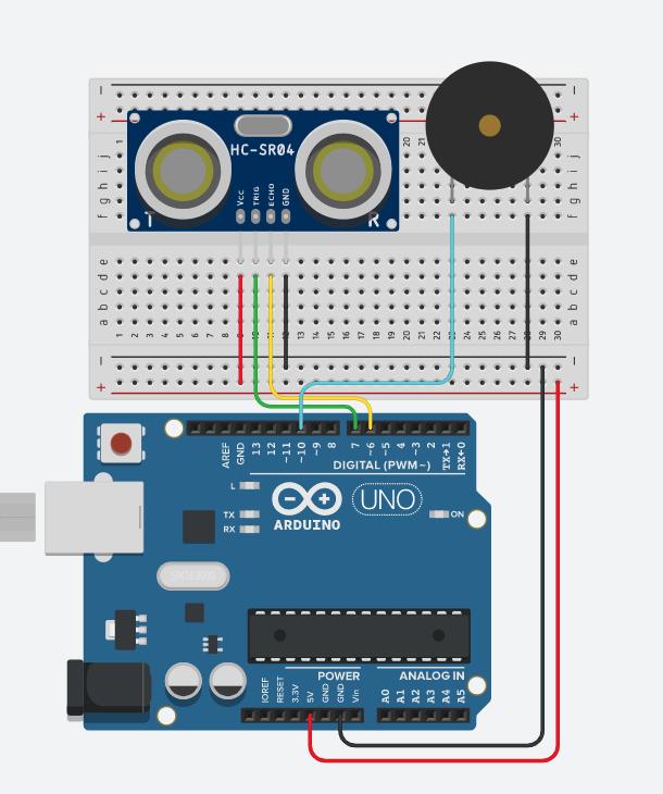 Aufbau Arduino Theremin